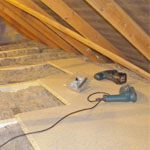 Insulation Replacement After Attic Work Phoenix