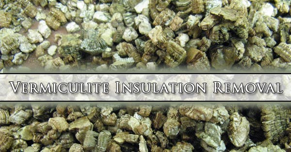 Vermiculite insulation removal barrier insulation for Blown in insulation vs batts