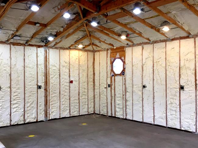 Spray Foam Insulation Phoenix Installed & Trimmed