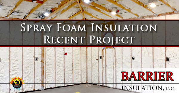 Spray Foam Insulation Phoenix