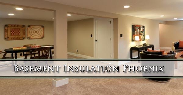 Basement Insulation Phoenix Barrier Insulation Install