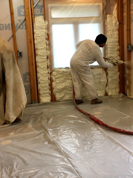 Spray Foam Insulation Phoenix Equipment & Foam Quality Check