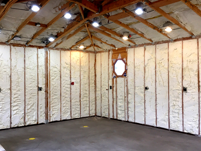 Spray Foam Insulation Phoenix Installed & Trimmed