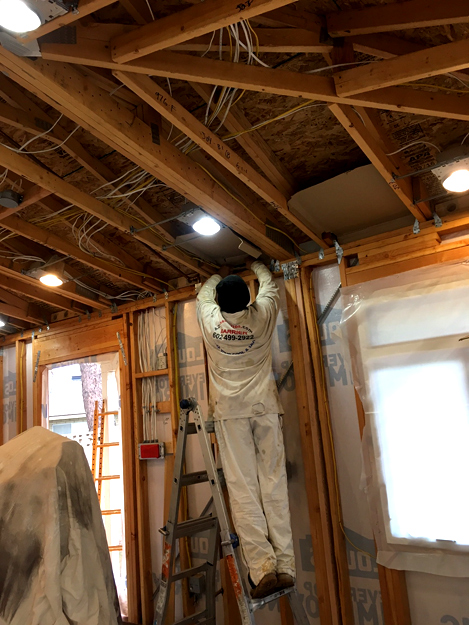Spray Foam Insulation Phoenix Site Preparation